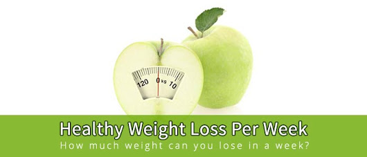 What is a Healthy Weight Loss Per week? Safe, Average, Normal, Ideal Weekly Weight loss Rate for Men & Women