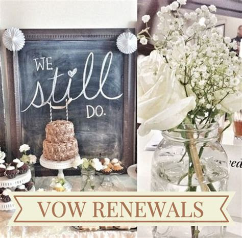 Renewing Wedding Vows   My Style   Wedding renewal vows