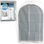 "AllTopBargains 5 Suit Garment Dress Covers 39"" Clothes Bag Storage Coat Protector Zipper Travel"