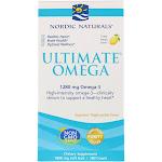 Nordic Naturals Ultimate Omega Lemon Flavored 180 Softgels