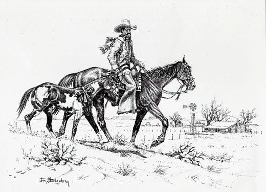 Cowboy Western Christmas Cards