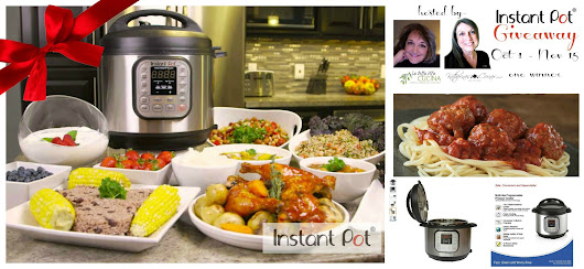 CHRISTMAS Gift GIVEAWAY for the Foodie in Your Life: $121.00 INSTANT POT !! - La Bella Vita Cucina