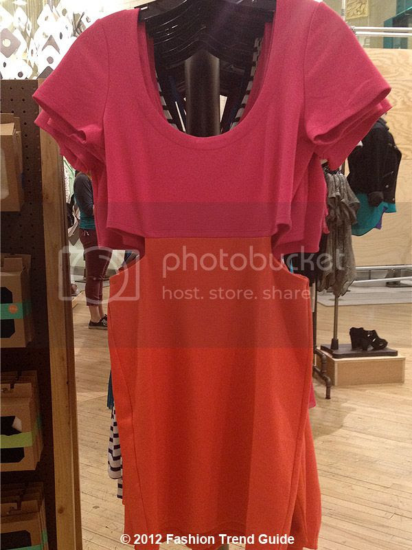 color block cutout dress, Las Vegas Urban Outfitters