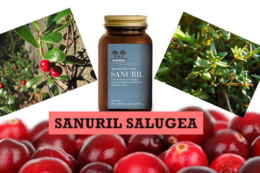 Sollievo immediato in caso di Cistite - Integratore Naturale Sanuril Salugea (capsule)