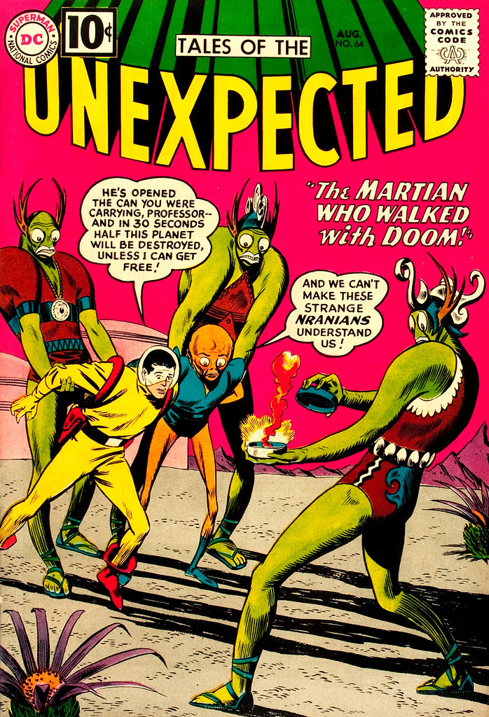 Tales of the Unexpected #64 (DC, 1961) Bob Brown cover