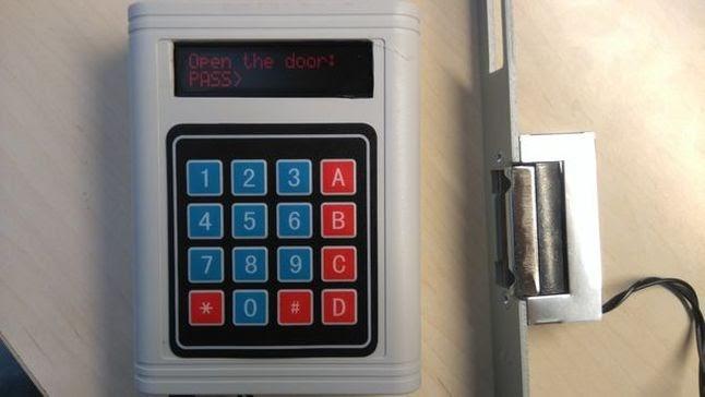 Φτιάχνω με το Arduino: Κλειδαριά με κωδικό πρόσβασης