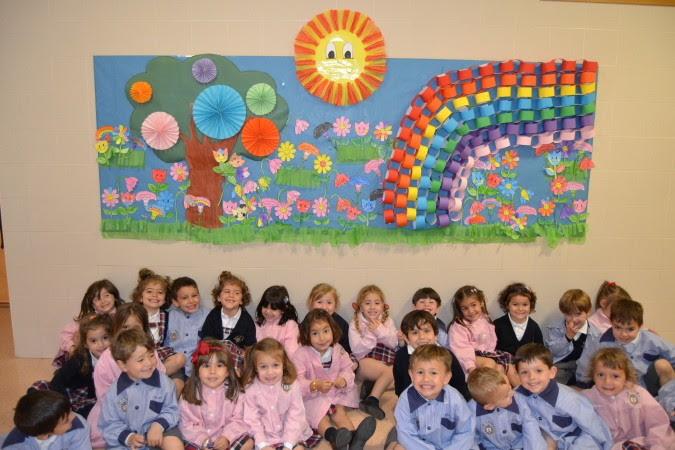 Murales De Primavera Colegio Nuestra Senora Del Carmen