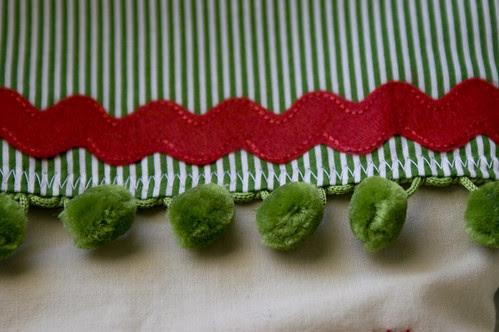 Elf Stocking Detail