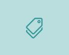 """Cartão para mesa """"reservado"""""""