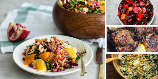 30 Best Healthy Holiday Recipes: Gluten-Free, Paleo and Vegan Options!