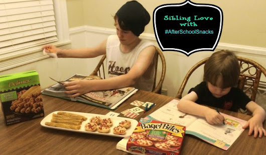 Sibling Love with After School Snacks - Generations of Savings