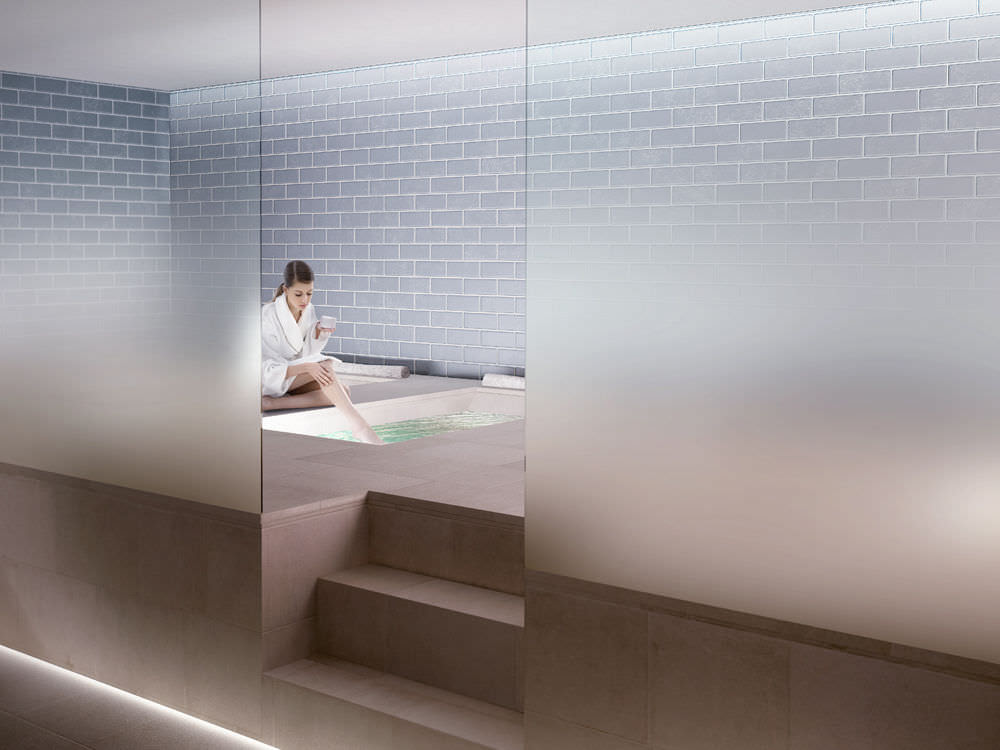 Partition Wall Construction Panel Madras Nuvola For Wellness Area