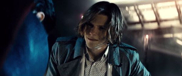 Lex Luthor (Jesse Eisenberg) confronts the Man of Steel in this scene from the BATMAN V SUPERMAN: DAWN OF JUSTICE Comic-Con trailer.