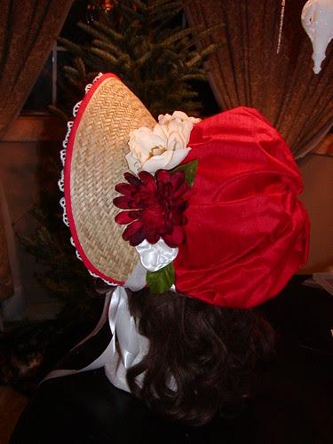 Red bonnet, etsy commission