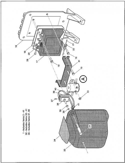 TXT Freedom DCS, Year 1997 | EZGO Golf Cart
