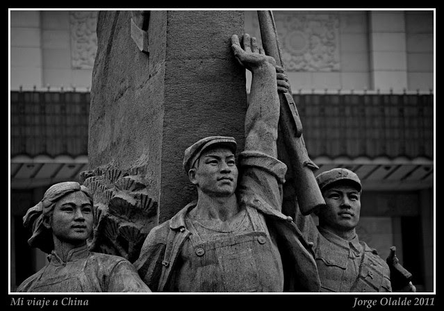 Pekín, plaza de Tianamenn, China 2011