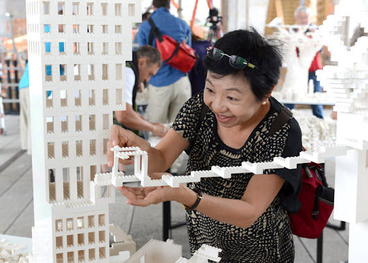 2 Tons of LEGO: 10 Architects Construct Interactive Micro-City