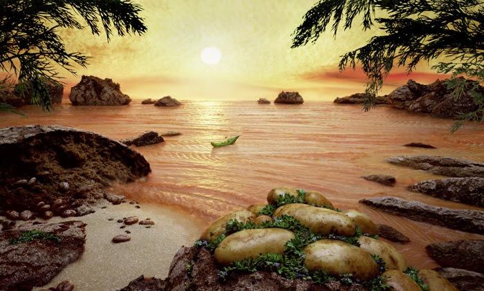 Fantastic Food Landscapes