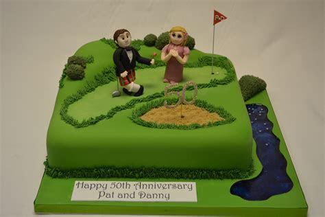 Golf Course Cake   Celebration Cakes   Cakeology