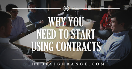 Why you Need to Start Using Contracts