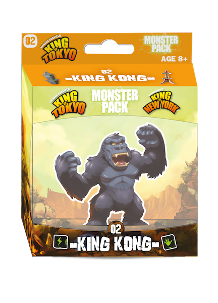 King of Tokyo: King Kong Monster Pack | IELLO