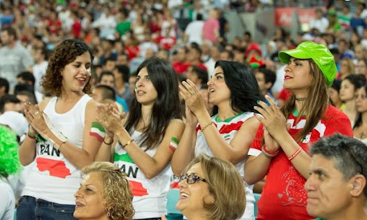 Iranian women stand united in protest and hope at Asian Cup | Football | The Guardian