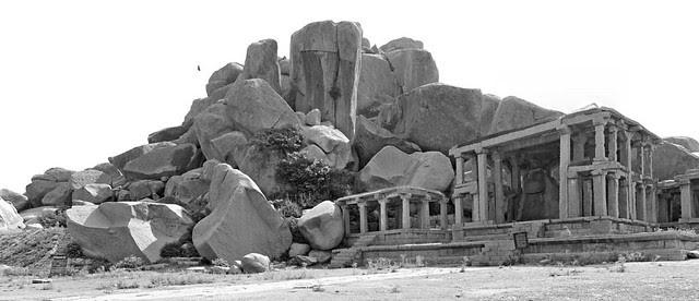 Nandi Temple, Hampi