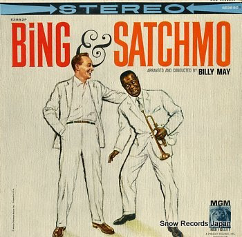 CROSBY, BING & LOUIS ARMSTRONG bing & satchmo