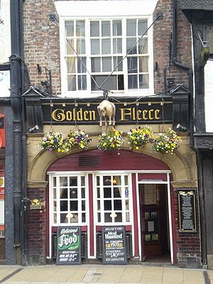 The Golden Fleece Inn in York, England