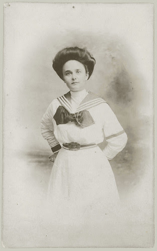 Woman in Sailor style