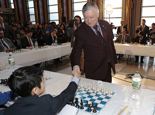 Anatoly Karpov Play a Game Chess for Development and Peace - Europa Newswire