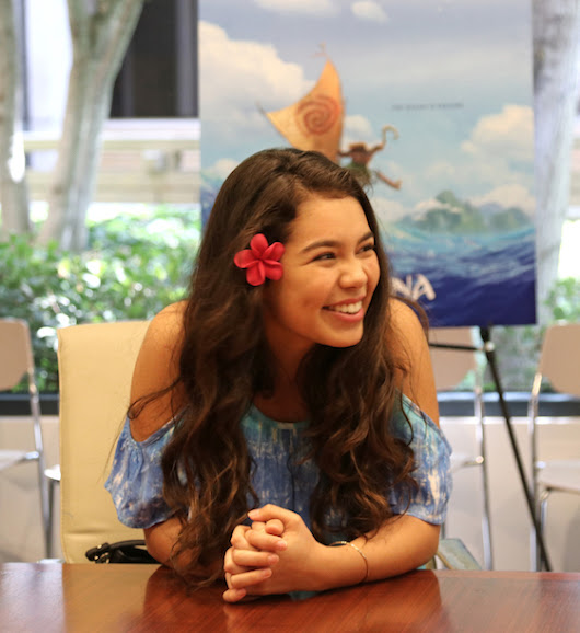 Exclusive Interview with Auli'I Cravalho as the Voice of Disney's Moana - Everyday Shortcuts