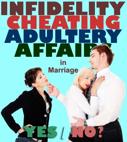 Shocking Facts About Infidelity In Marriages [Infographic] | Aha!NOW & The ABC