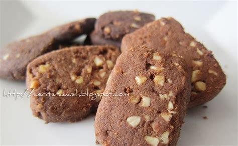 xo life resepi rahsia  biskut badam coklat