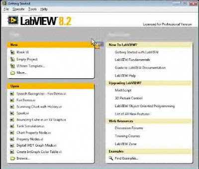 ·Click to read about Labview software, from the National Instrument's website·