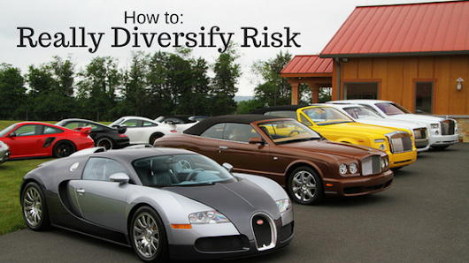 How to REALLY Diversify Risk? Learn How Now Before Big Losses Roll You Over