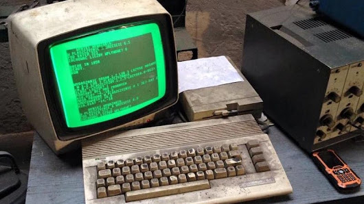 This Old Ass Commodore 64 Is Still Being Used to Run an Auto Shop in Poland