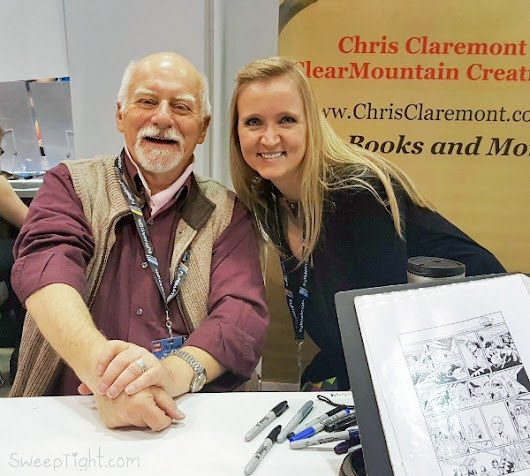 Chris Claremont at the Chicago Comic Entertainment Expo - C2E2