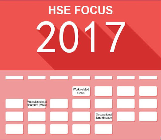HSE Prioritises Plans for 2017/18 | Sensible Safety Solutions