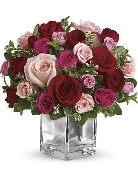 Red Roses Flower Arrangements