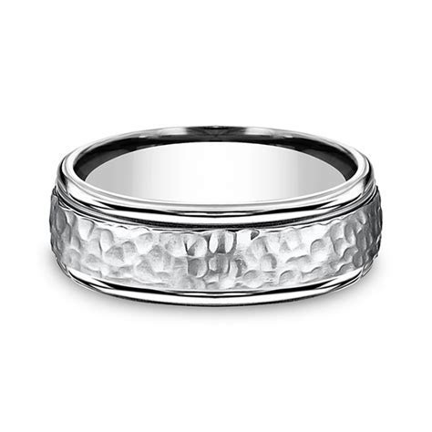 Forge Cobalt Comfort Fit Design Wedding Band CF67502CC06