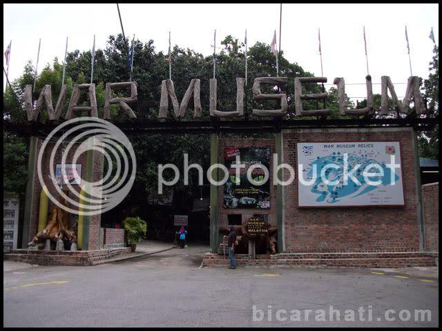 wm2 Jelajah Muzium Perang Di Batu Maung