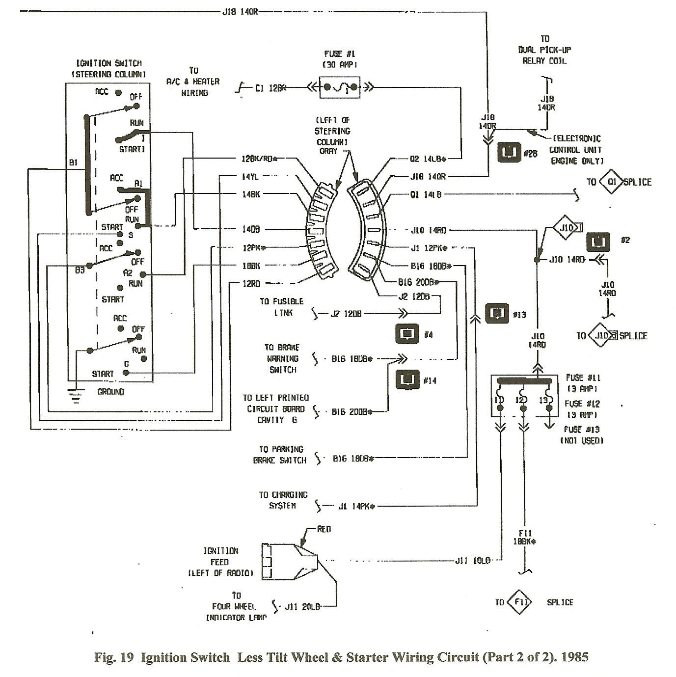 1986 Dodge Ignition Wiring Diagram