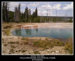 West Thumb, Yellowstone Lake