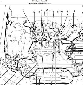 Wiring Diagram: 35 2000 Toyota Camry Engine Diagram