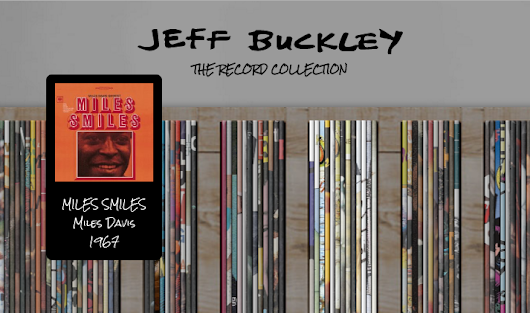 Browse & Stream Jeff Buckley's Entire Record Collection on a New Interactive Web Site