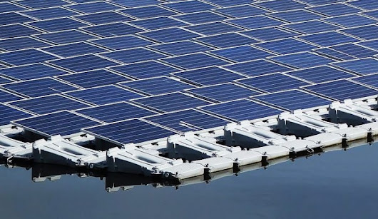 Floating Solar Panels Could Solve Lots of Problems at Once