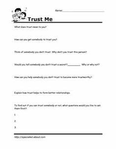 14 Best Images of Mental Health Group Worksheets - Family ...
