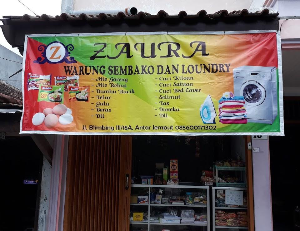 Desain Spanduk Banner Toko Sembako Serbabisnis