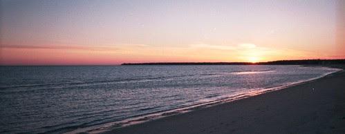 An Ocean of Blue Sunset